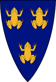 100 King Of The Frogs Ancient Coat Of Arms Of France According To Tradition The