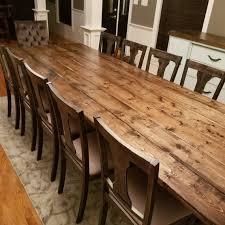 Long Farmhouse Table Large Farm Rustic Custom