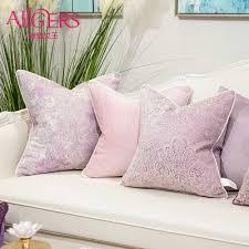 avigers kissen deckt rosa kissen dekorative kissen jacquard kissen fällen werfen kissen für sofa schlafzimmer wohnzimmer auto