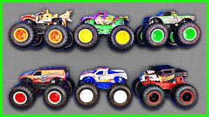 100 Monster Trucks Names For Kids Truck Colors For Kids Fun Educational Organic Learning