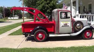 100 Vintage Tow Trucks For Sale 1934 Chevy 12 Ton Pickup Wrecker YouTube