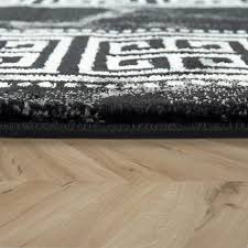 kurzflor teppich edle bordüre