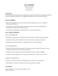 Functional Summary On Resume Example And Examples Of Qualifications To