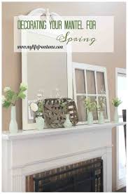Decor Mantle Sensational Mantel Photos Inspirations Stacy Risenmay Spring Home Place Mirrors Waplag Pinterest Wall