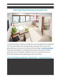 100 Rural Design Homes Calamo Our Top 3 To Inspire You