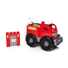 Mega Bloks Fire Truck Rescue Building Set - Mattel - Toys