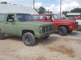 100 4x4 Trucks For Sale In Texas CUCV M1009 Chevrolet Military Blazers For At Www