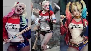 Harley Quinn Pumpkin Carving Stencil by Best Harley Quinn Costume Youtube