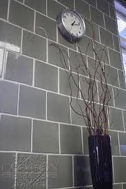 height kitchen wall tile in handmade ceramic staggered