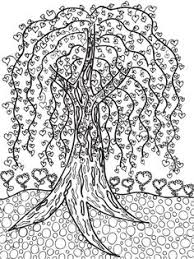 Tree FREE Printable Coloring Page