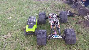 1/10 Compared To A 1/5 Scale Monster Truck Kit Model. What Happens ...