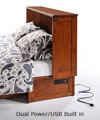 Night & Day Furniture Clover Murphy Cabinet Bed