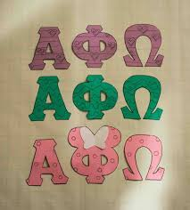 Alpha Phi Omega Letter Stencils Alpha Phi Omega Fun Stuff