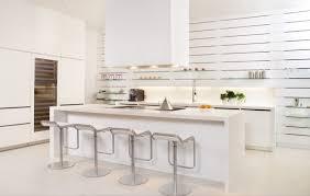 Modern White Kitchen Interior 3d Rendering Stockfoto Und 30 Modern White Kitchens That Exemplify Refinement