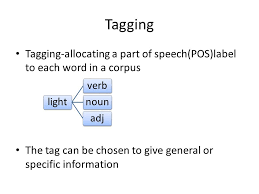 Light Verb by Categories And Annotation Corpus Annotation The Process Of Adding
