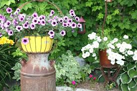 Rustic Garden Art Whether You Call It Recycled Decor South