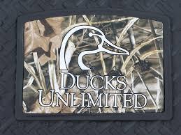 Ducks Unlimited Logo Camo