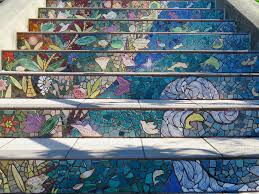 16th Avenue Tiled Steps Project by Mosaic Steps Phyllis And I Loved The 16th Avenue Tiled Ste U2026 Flickr