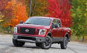 Nissan Titan Reviews | Nissan Titan Price, Photos, And Specs | Car ... Nissan Charges Back Onto The Fullsize Pickup Truck Battlefield With 2017 Titan Halfton In Crew Cab Form Priced From 35975 2012 Pro4x First Test Motor Trend Renault Alaskan Reveal Allnew Neu Midsize On All New Titan Xd Full Size Production Begins At Canton Appears With Stylish Muscular Bonnet And Large Expands Pickup Line Truck Talk Vans Cars And Trucks 2004 Brooksville Fl Vs Toyota Tundra Fullsize Comparison Youtube 2018 Frontier Midsize Rugged Usa Named North American Truckutility Of Year
