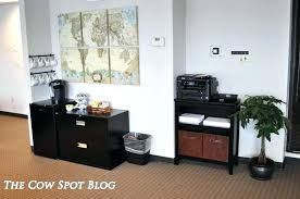 Office Coffee Station Organizer Outstanding Small Stations Bar Amazing