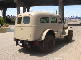 100 53 Dodge Truck RestoMod Workhorse 1942 WC Carryall Turbodiesel Diesel Army