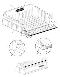 Woods MAV 350 Utility Vehicle Utility Vehicle Truck Bed (Part 1 ...