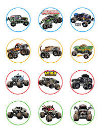 Monster Jam, Monster Truck, Grave Digger Cupcake Toppers (12 Images ... Monster Truck Cupcake Toppers Wrappers Etsy Blaze And The Machines Edible Image Cake Topper Amazoncom Monster Toppers Party Krown 24 Jam Rings Cupcake Toppers Cake Birthday Party Favors Truck Mudslinger Boys Birthday Party Cupcake Wrappers And Easy Cakes Ideas Classic Style Decoration Little Birthday Personalised Icing Gravedigger Byrdie Girl Custom