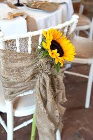 Gallery Sunflowers And Burlap Wedding Decor For Rustic Deer Pearl Flowers Used