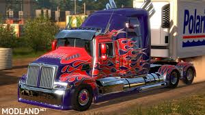 Optimus Prime - 1.31.x Mod For ETS 2 Transformers Wallpapers Optimus Prime Group 87 Is Here Worlds 1st T4 Truck Replica Building Dreams News Dad Builds Fullscale Replica Of To Inspire His Son The Last Knight Lorry Walmart Has Unveiled Its Truck Of The Future Hello Stock Photos Images Alamy Optimus Prime Drift Truck Gta 5 Transformers Mod Youtube Wester Star 5700 V14 For Ats American Elegance On 18 Wheel On Twitter Whats Your Favorite V20 For San Andreas