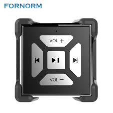 FORNORM Wireless Bluetooth Button Car Steering Wheel Media Remote