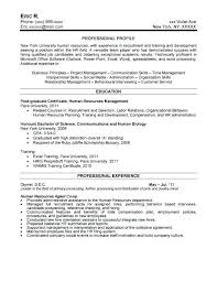 Sapphirepartners Hr Resume Sample Manager Resumes