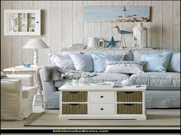 Beach Cottage Living Room Decor Chic Style Country Home Ideas