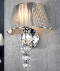 half shades for wall lights and modern light with fabric lighting
