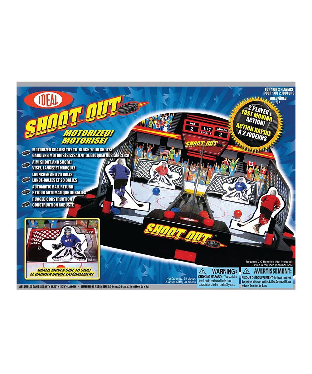 Ideal Shoot Out Hockey Playset