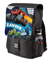 100 Monster Truck Backpack TVs Toy Box Blaze The Machines Personalized Zulily