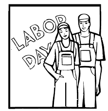 Labor Day Coloring Pages Holidays And Observances Sheets