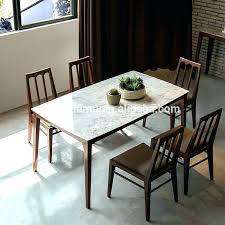 Awesome Dining Room Art Ideas Marble Top Table And Also