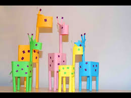 Paper Crafts For Kids Little Giraffes EASY PAPER DIY IDEAS Christian Club