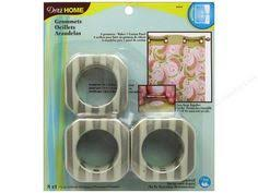 Dritz Home Curtain Grommets Instructions by Dritz Grommets Dritz Home Curtain Grommets 1 In Round Brushed