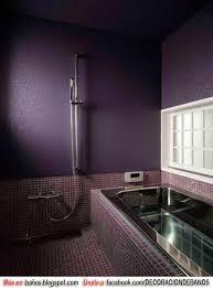 baños color lila baños fotos de baños de