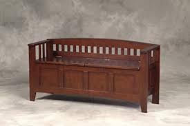 Amazon Linon Home Decor Storage Bench with Short Split Seat