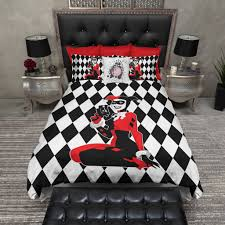 Vs Pink Bedding by Harley Quinn Harlequin Bedding Ink And Rags