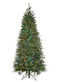 7ft Aspen Slim Christmas Tree by 9 Foot Christmas Tree Pre Lit Christmas Lights Decoration