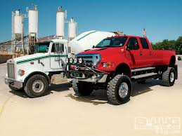 Peterbilt 378 And Ford F-650 | FoRdS | Trucks, Ford Trucks, Lifted ...