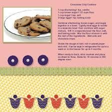 scrapbooking cuisine 47 best recipe scrapbook images on scrapbooking