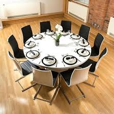 Dining Room Tables Seats 12 Large Round Table O Design