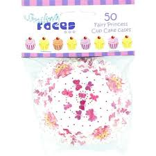 Fairy Princess Theme Paper Cupcake Cases Pack Of