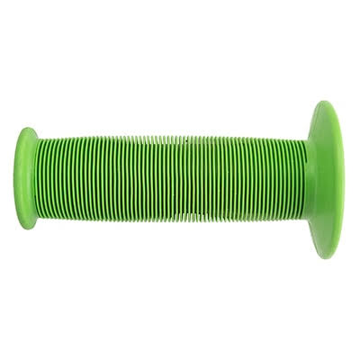 ODI MX Mushroom Single Ply Grips - Lime Green, 120mm