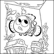 Coloring Pages Nemo Finding Dory To Paint Color Zini