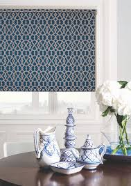 Navy Geometric Pattern Curtains by 20 Colour And Interior Window Trends For 2017 Blinds Curtains